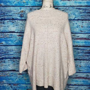 🤟Westport XL Cream Sweater w/ colorful specs